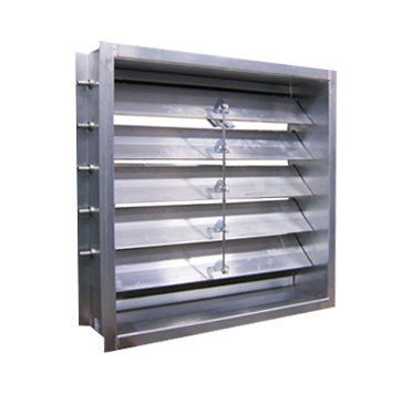 Backdraft Damper - Ürünler - Mergen İklimlendirme